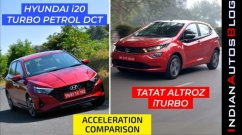 Hyundai i20 Turbo vs Tata Altroz iTurbo - Acceleration Test - Shocking Results