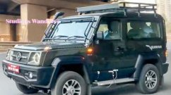 New-Gen Force Gurkha Spied Once Again In Near Production Guise