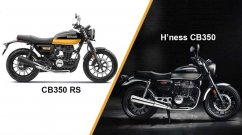 Honda CB350RS vs H'ness CB350 - Differences Explained [Video]