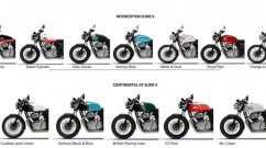 New Royal Enfield Interceptor 650, Continental GT 650 Colours Leaked?