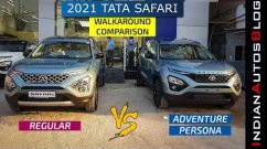 New Tata Safari vs Adventure Persona - Detailed Walkaround Comparison Video