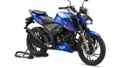 TVS Apache RTR 200 4V Single-Channel ABS Model Updated