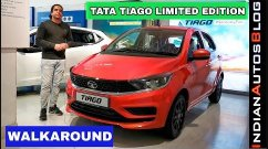 Tata Tiago Limited Edition Detailed On Tape - Video