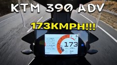 Can KTM 390 Adventure Surpass 173km/h? Let's Find Out [Video]