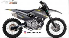This Bajaj Pulsar 150 Looks Like a Serious Hero Xpulse 200 Rival - Render