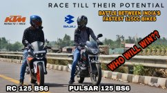 Watch KTM RC 125 Beat Bajaj Pulsar 125 in Top-End Drag Race