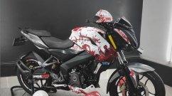 Bajaj Pulsar NS200 Looks Wicked in this Zombie Paint Scheme