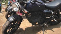 Meteor-Based 350cc Royal Enfield Motorcycle Spied - Hunter or Roadster?
