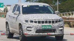 New Spy Shots Of Upcoming Jeep 7-seater SUV Reveal More Design Details