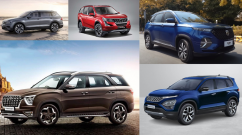 Top 5 Seven-Seater SUVs in India - Hyundai, MG, & More