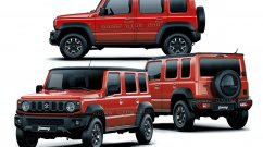 Suzuki Jimny LWB (New Maruti Gypsy) 360 Degree View Imagined