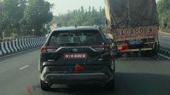 Toyota RAV4 Spied Undergoing ARAI Tests