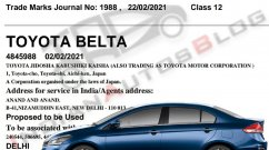 Toyota Belta is the New Honda City Rival, Based on Maruti Ciaz