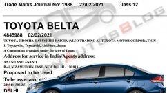 Toyota Belta is the New Honda City Rival, Based on Maruti Ciaz