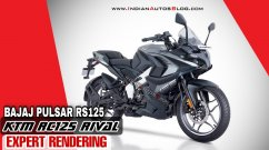 Bajaj Pulsar RS125 (KTM RC 125 Rival) Rendered