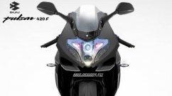 High-Spec Bajaj Pulsar 220F Sportbike Avatar is Captivating - Render