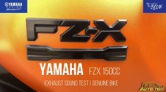 Yamaha FZ-X Exhaust Note Revealed Ahead of Launch - VIDEO
