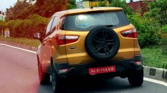 Upcoming Ford EcoSport Facelift Spied in New Orange Colour
