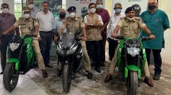 Kabira KM3000, KM4000 Electric Motorcycles Delivered to Goa Police