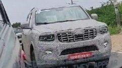 New Mahindra Scorpio Spied Testing Yet Again - VIDEO
