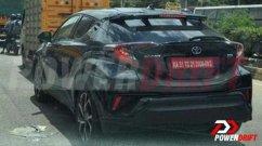 Toyota C-HR Spied in India Again, Flaunts Dashing Rear-End Design