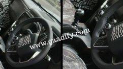New Mahindra Scorpio Interior Features Revealed in New Spy Shots