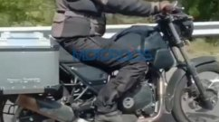 New Royal Enfield Himalayan Spied, Looks More Road-Focused