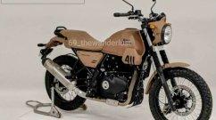 Road-Focused Royal Enfield Himalayan Design Leaked via Clay Model