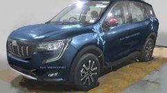 Mahindra XUV700 Colour Options Digitally Imagined - Blue, Black, Silver