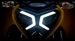 New TVS Bike Teased, to Get Stylish LED DRLs, Digital Console & More