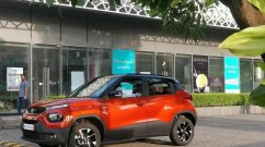 Tata Punch in Dual-Tone Orange Colour Looks Stylish, Spied Undisguised