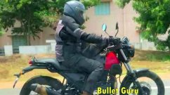 New Royal Enfield Himalayan Variant SPY VIDEO Surfaces Online