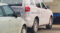 New Mahindra Scorpio Taillights Revealed in Latest Spy Shots