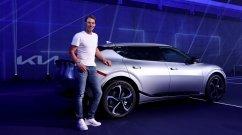 Customized Kia EV6 Handed Over to Tennis Legend Rafael Nadal