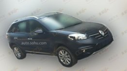 Renault Koleos facelift spied undisguised in China