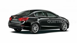 2015 Chevrolet Cruze rendered
