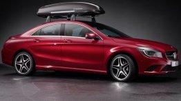 Mercedes CLA genuine accessories revealed