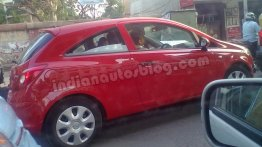 Another IAB reader spots an Opel Corsa in Bengaluru