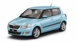 "Skoda adds new ""Sky Blue"" body color to Fabia in Europe"