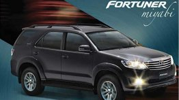 Toyota Fortuner 'Miyabi' special edition launches in Colombia