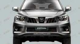 Isn't this the Foton Tunland based SUV out to claim the Toyota Fortuner's head?