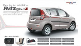 Limited Special Edition Maruti Ritz @buzz launched; 12 new features inside