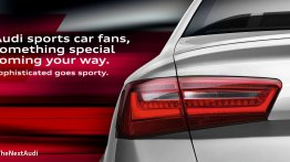 Audi India teases the S6 on Facebook, to be launched on July 12