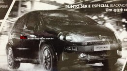 Fiat Punto BlackMotion special edition to be launched in Brazil