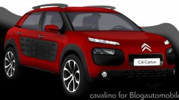 Rendering - How do you like the Citroen C4 Cactus crossover?