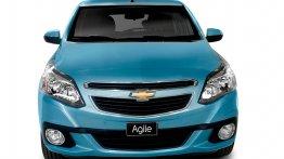Brazil - Images of the Chevrolet Agile facelift leak