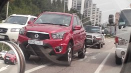 Spied - 2014 Ssangyong Actyon looks almost Korando like