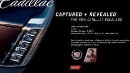 USA - Next generation Cadillac Escalade debuts on October 7