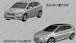 Leaked - Production-spec BMW Concept Active Tourer will look like this