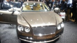 Bentley to launch 2014 Flying Spur in India on October 1